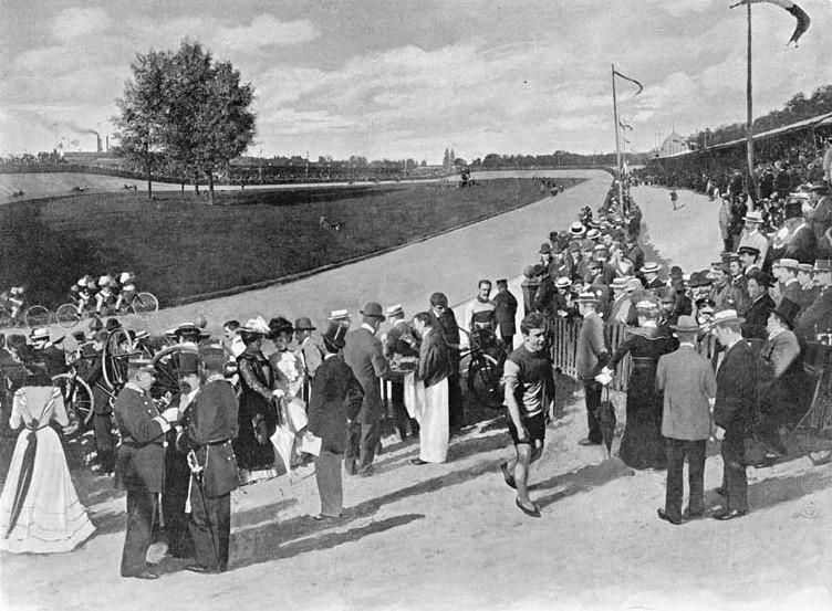 vélodrome La Cipale 1900